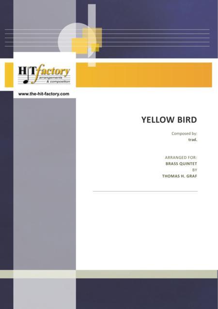 Yellow Bird - Haitian Folk Song - Calypso - Brass Quintet