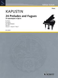 Twenty-Four Preludes and Fugues op. 82 Band 1