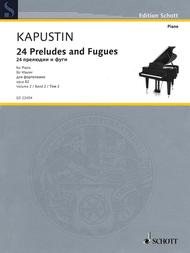Twenty-Four Preludes and Fugues op.  82 Band 2