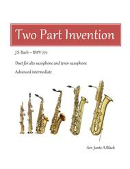 Two Part Invention - J.S. Bach BWV 772