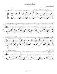 Christmas Song for flute and piano