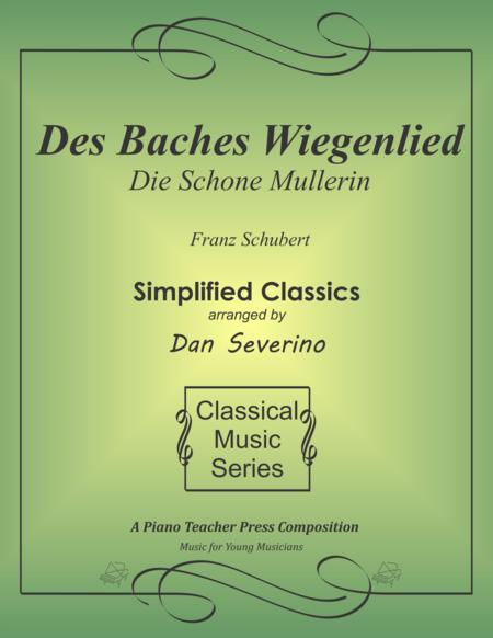 The Brook's Lullaby (Des Baches Wiegenlied) from Die Schone Mullerin