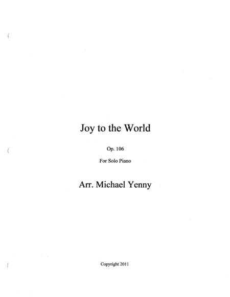 Joy to the World, op. 106