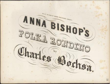 Anna Bishop's Polka Rondino