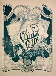 Love Letter Waltzes. Most Popular Waltzes of the Period