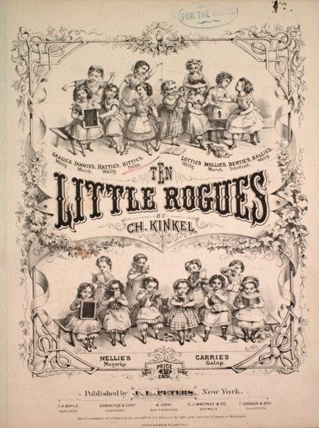 Ten Little Rogues. Kittie's Polka