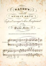 Haydn's Celebrated Spirit Song