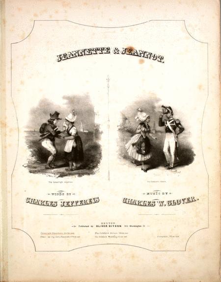 Jeannette & Jeannot. Conscript's Departure