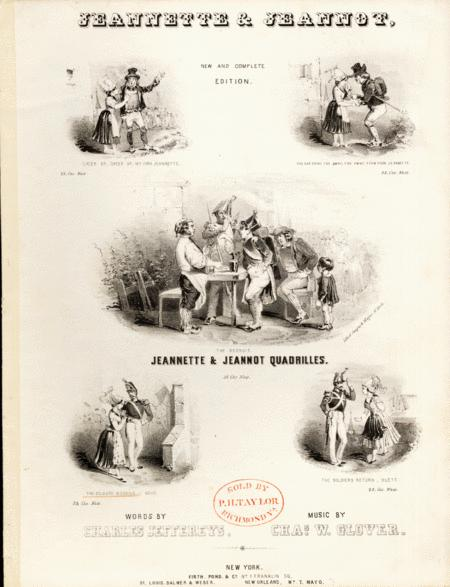 Jeannette & Jeannot. The Soldier's Wedding