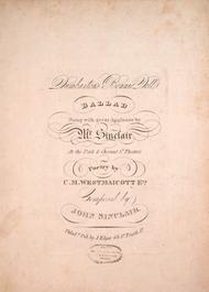 Dumbarton's Bonnie Dell. Ballad