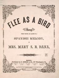 Flee as a Bird. Song