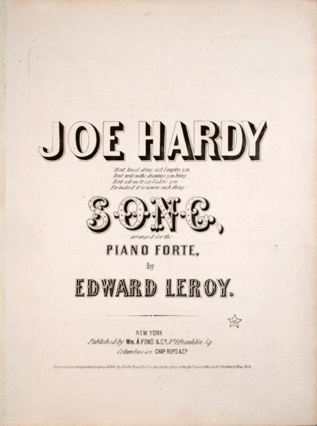 Joe Hardy. Song