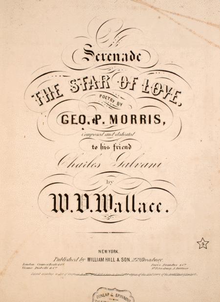 Serenade. The Star of Love