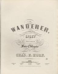 The Wanderer. A Celebrated Song by Liszt