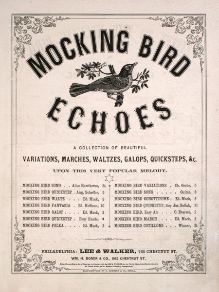 Mocking Bird Echoes: Listen to the Mocking Bird