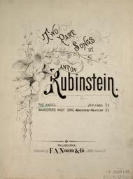 Two Part Songs by Anton Rubinstein. The Angel (Der Engel)
