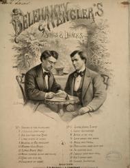Delehanty & Hengler's Songs & Dances. Apple of My Eye