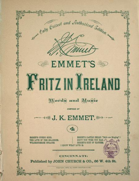 Emmet's Fritz in Ireland. The Bells are Ringing