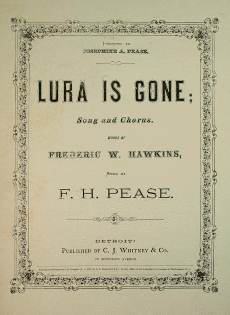 Lura is Gone. Song and Chorus