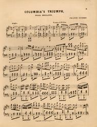 Columbia's Triumph. Polka Brillante