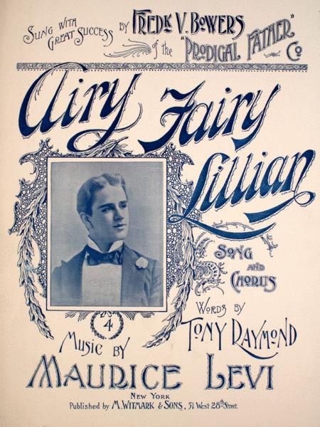 Airy Fairy Lillian. Song and Chorus