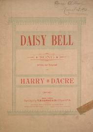 Daisy Bell. Song