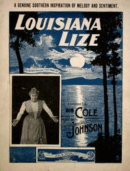 Louisiana Lize. A Genuine Southern Inspiration of Melody and Sentiment