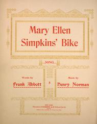 Mary Ellen Simpkins' Bike. Song