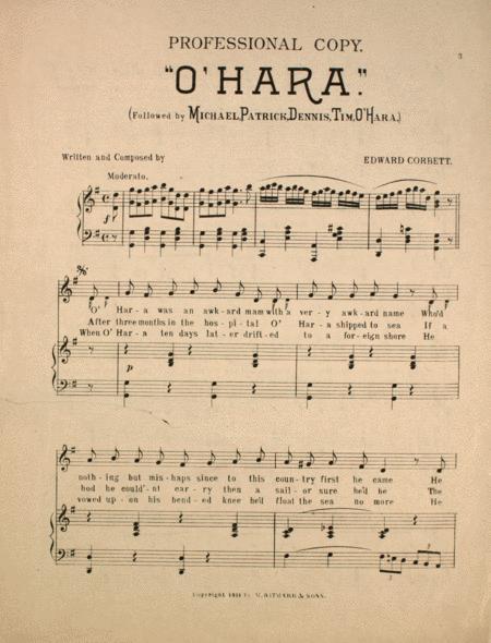 O'Hara (Followed by Michael, Patrick, Dennis, Tim, O'Hara)