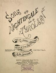 Song of the Nightingale from the Tyrolean