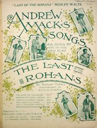 Andrew Mack's Songs. The Story of the Rose