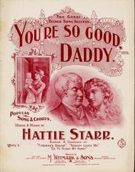 You're So Good, Daddy. Popular Song & Chorus