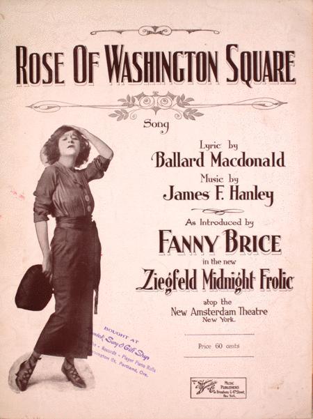 Rose of Washington Square. Song