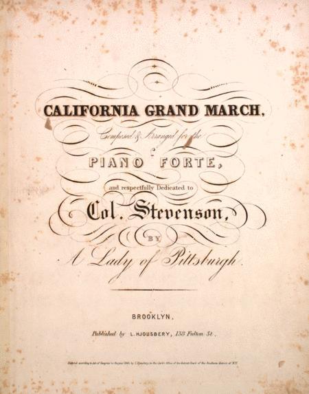 California Grand March