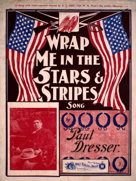 Wrap Me in the Stars & Stripes. Song