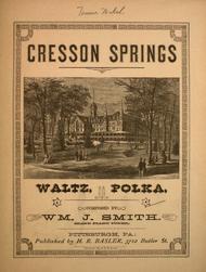 Cresson Springs. Waltz Polka