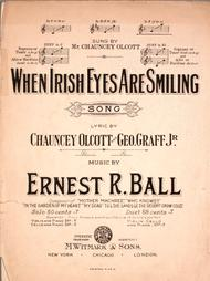When Irish Eyes Are Smiling. Song