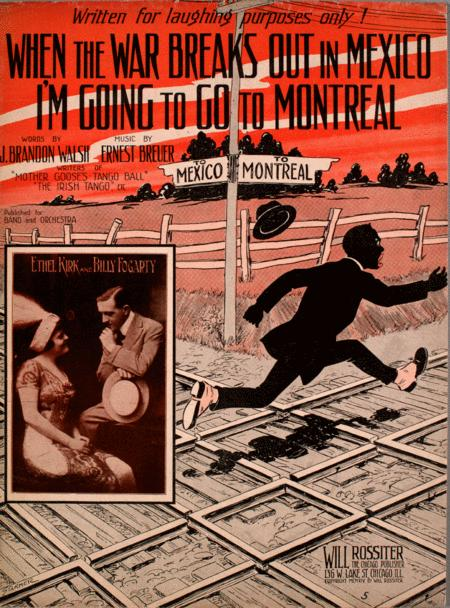 When the War Breaks Out in Mexico I'm Going to go to Montreal