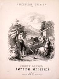 American Edition of Jenny Lind's Swedish Melodies.