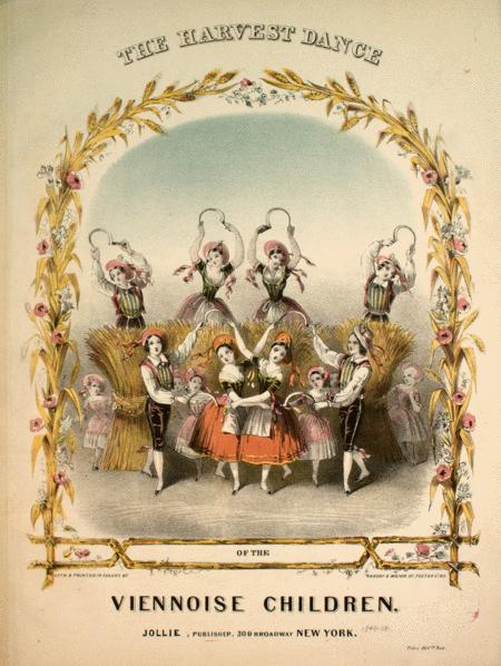 The Harvest Dance of the Viennoise Children