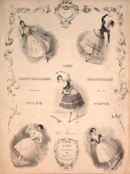 Melle. Fanny Elssler's Quadrilles