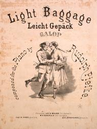 Light Baggage (Leicht Gepack). Galop