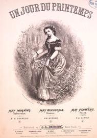 Un Jour Du Printemps. May Flowers. Polka