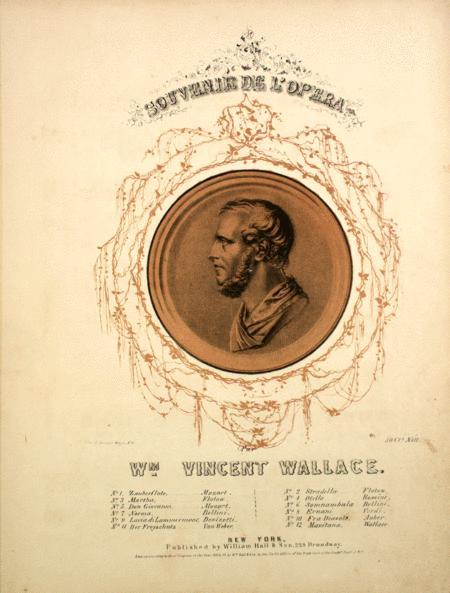Souvenir De L'Opera. Souvenir De Donizetti. Fantasie De Salon. Sur L'Opera Lucia Di Lammermoor