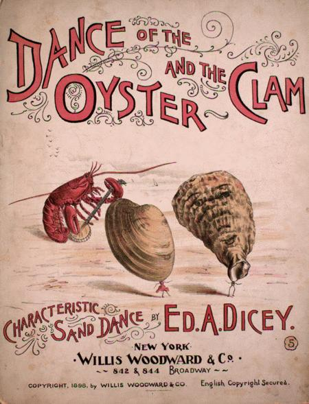 Dance of the Oyster and the Clam. Characteristic Sand Dance