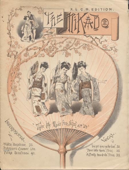 The Mikado. Potpourri