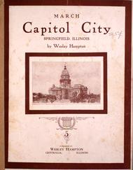 Capitol City. Springfield, Illinois. March