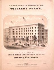 A Carnival in Washington. Willard's Polka