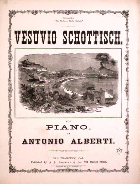 Vesuvio Schottisch for Piano