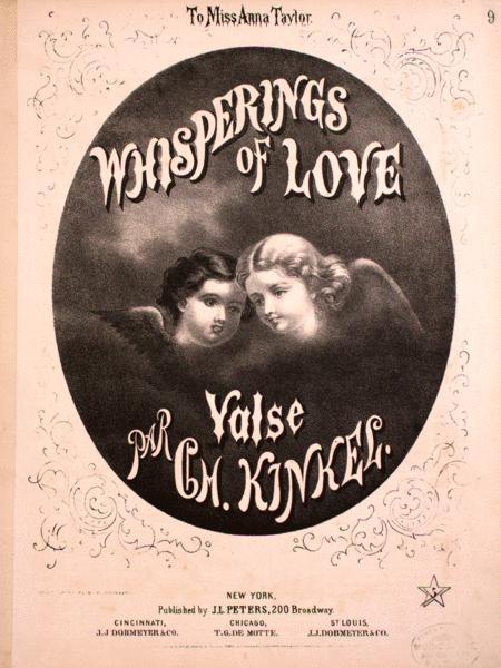Whisperings of Love. Valse